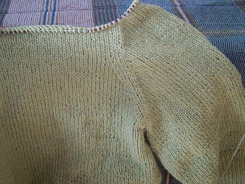 Statytos rankovės mezgimas
