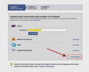 Langkah Pertama Cara Membuat Facebook Tambahkan Teman Anda