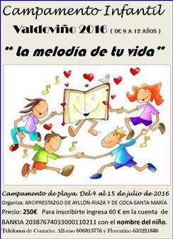 Campamento de Niños 9 - 12 años