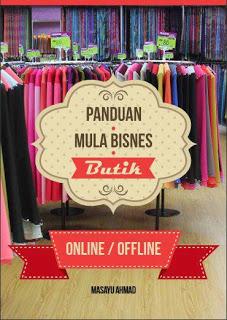 Ebook Panduan Mula Bisnes Butik Online/ Offline