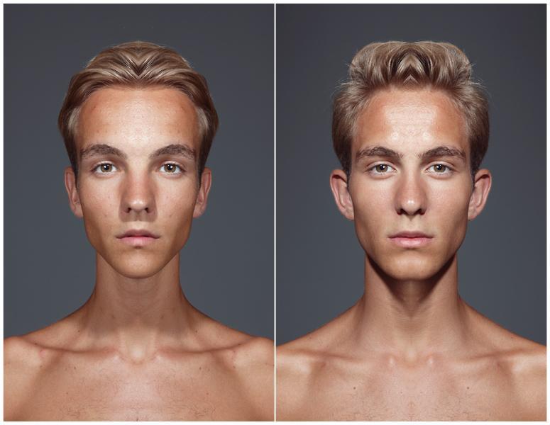 how to fix asymmetrical face