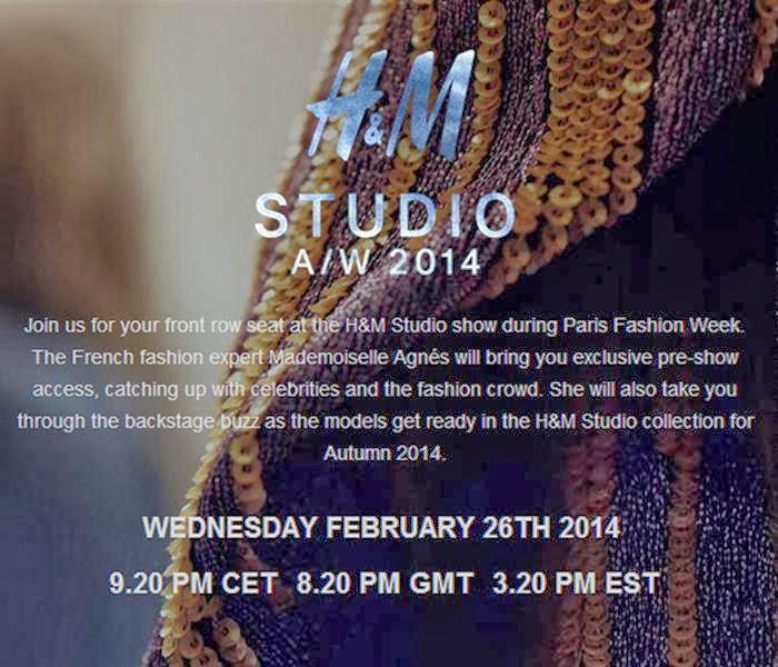 בלוג אופנה Vered'Style שידור חי משבוע האופנה בפאריז H&M