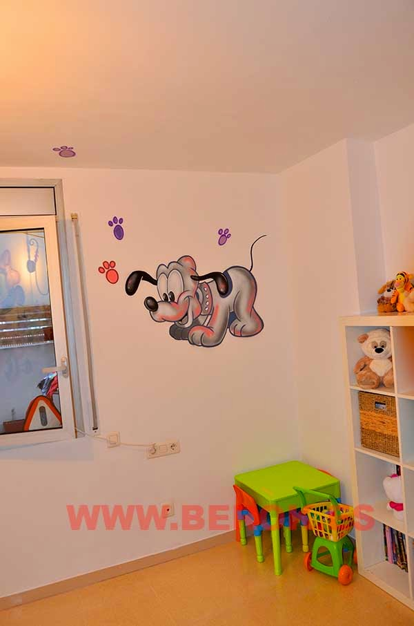 Murales infantiles Disney
