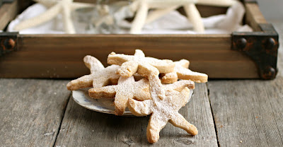 Sweet Starfish Shortbread Cookies