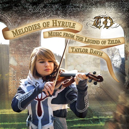 Violinist Taylor Davis plays video game and movie music