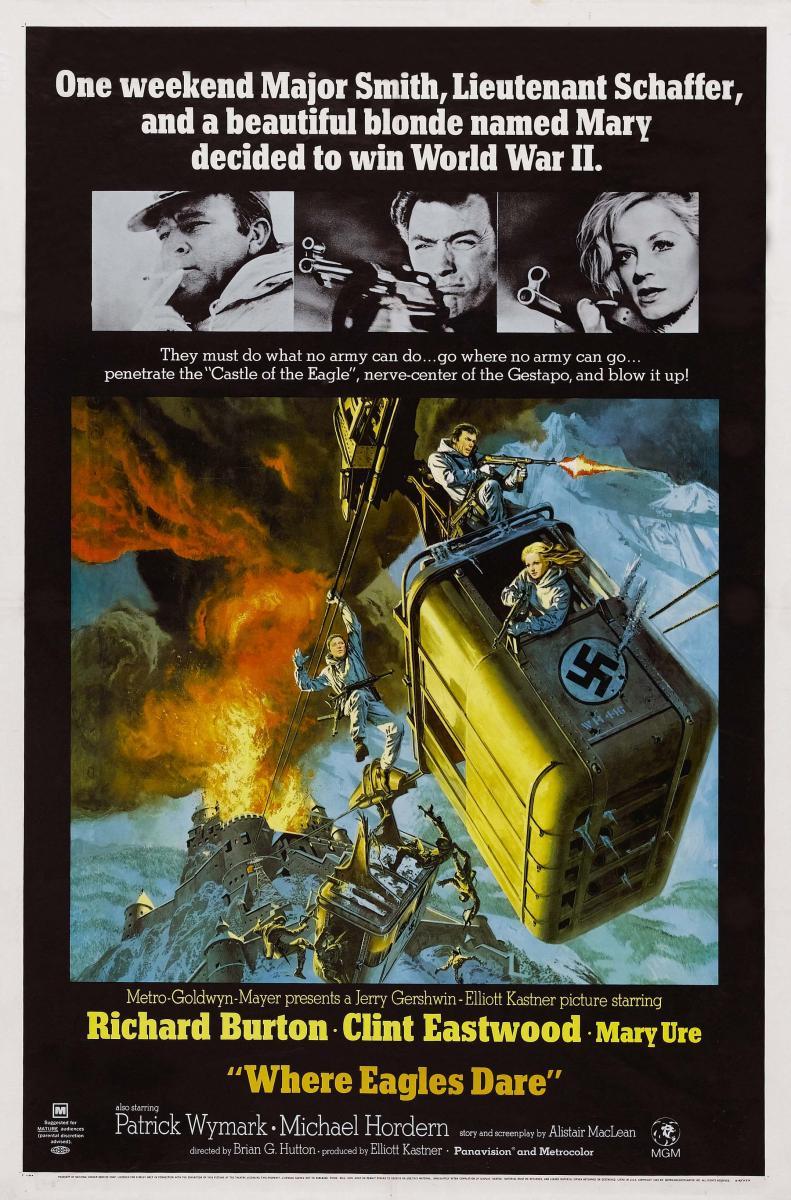 El desafío de las águilas (1968) HD   clasicofilm / cine