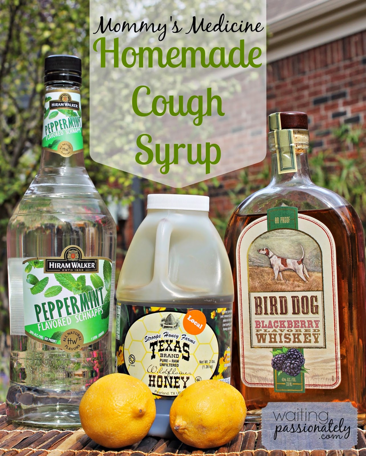 DIY: Homemade Cough Syrup