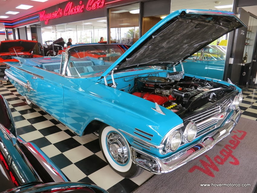 HOVER MOTOR COMPANY: Quality is the key at Wagner\'s Classic Cars