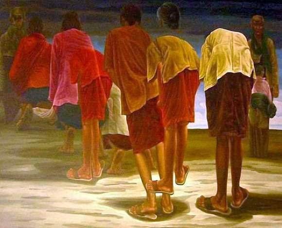 Gambar Lukisan Ivan Sagito