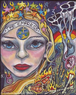 Empress Bonefire Tarot