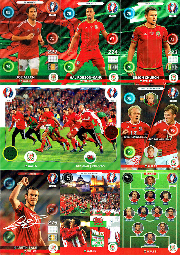 PANINI ADRENALYN XL France 2016-239 Next Generation-Hinteregger /& sabitzer