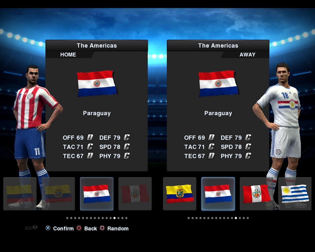 Paraguai 2012/13 Kitset - PES 2013