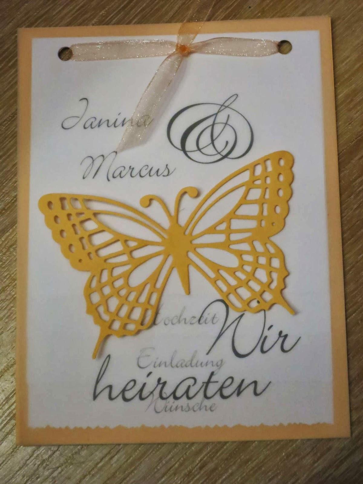 ♥ Ninschis Sammelsurium ♥ Hochzeitseinladungen selber basteln