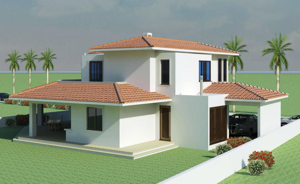 Mediterranean modern homes ideas house plans 13743 for Mediterranean exterior design