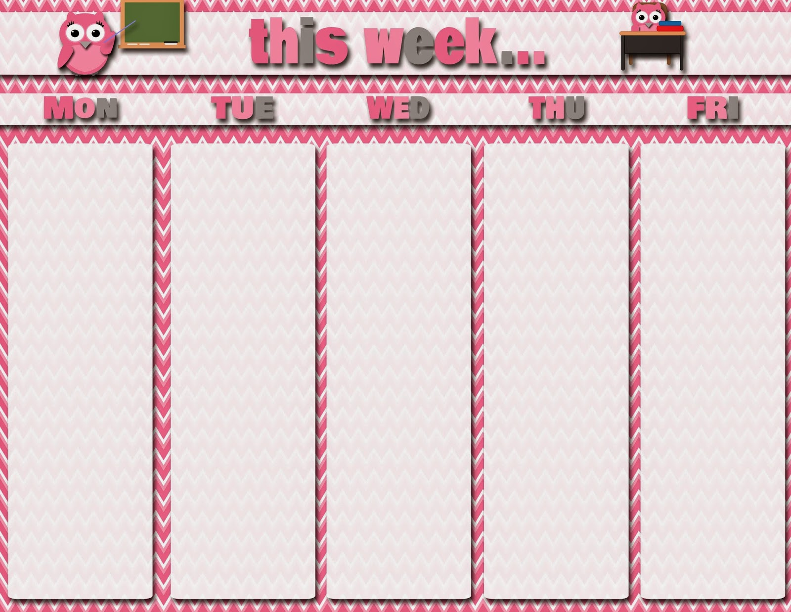 Calendar Girly : My fashionable designs free printables teacher and
