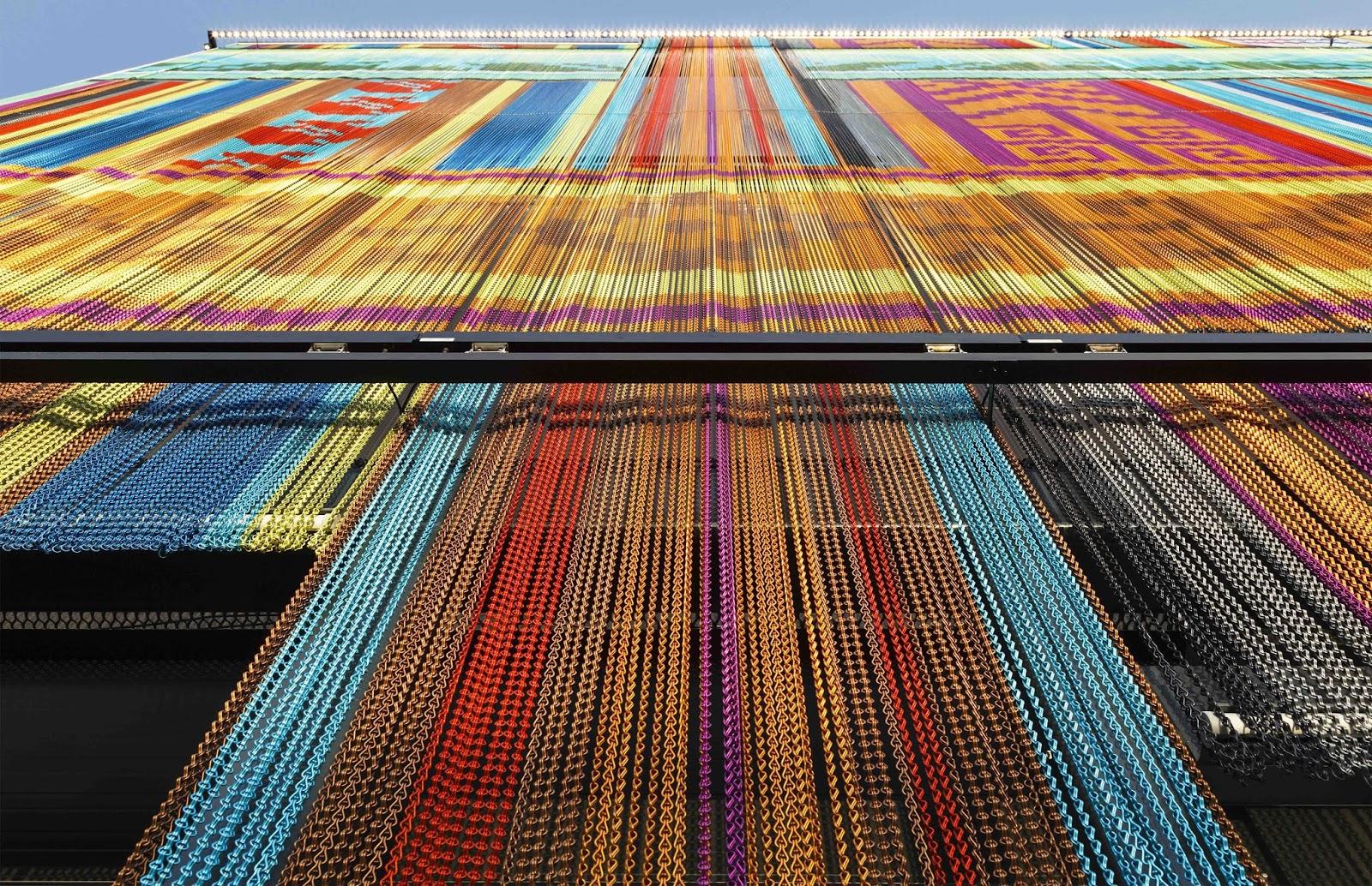 Expo Milano Stand Ecuador : Kriskadecor riveste la facciata del padiglione dell