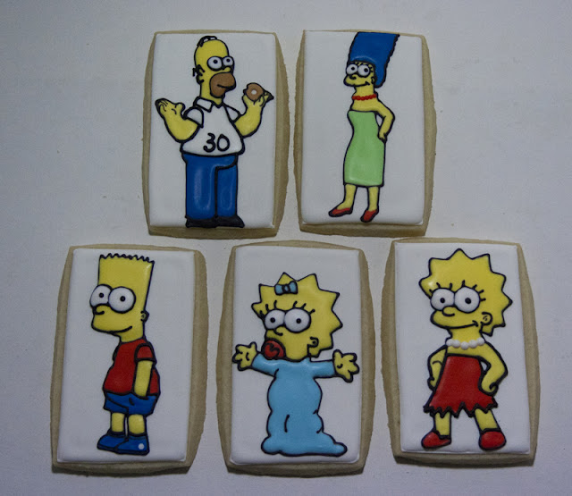 Simpsons cookies