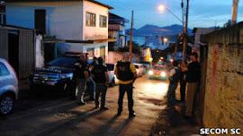 Aumentou as mortes provocadas pela polícia de Santa Catarina