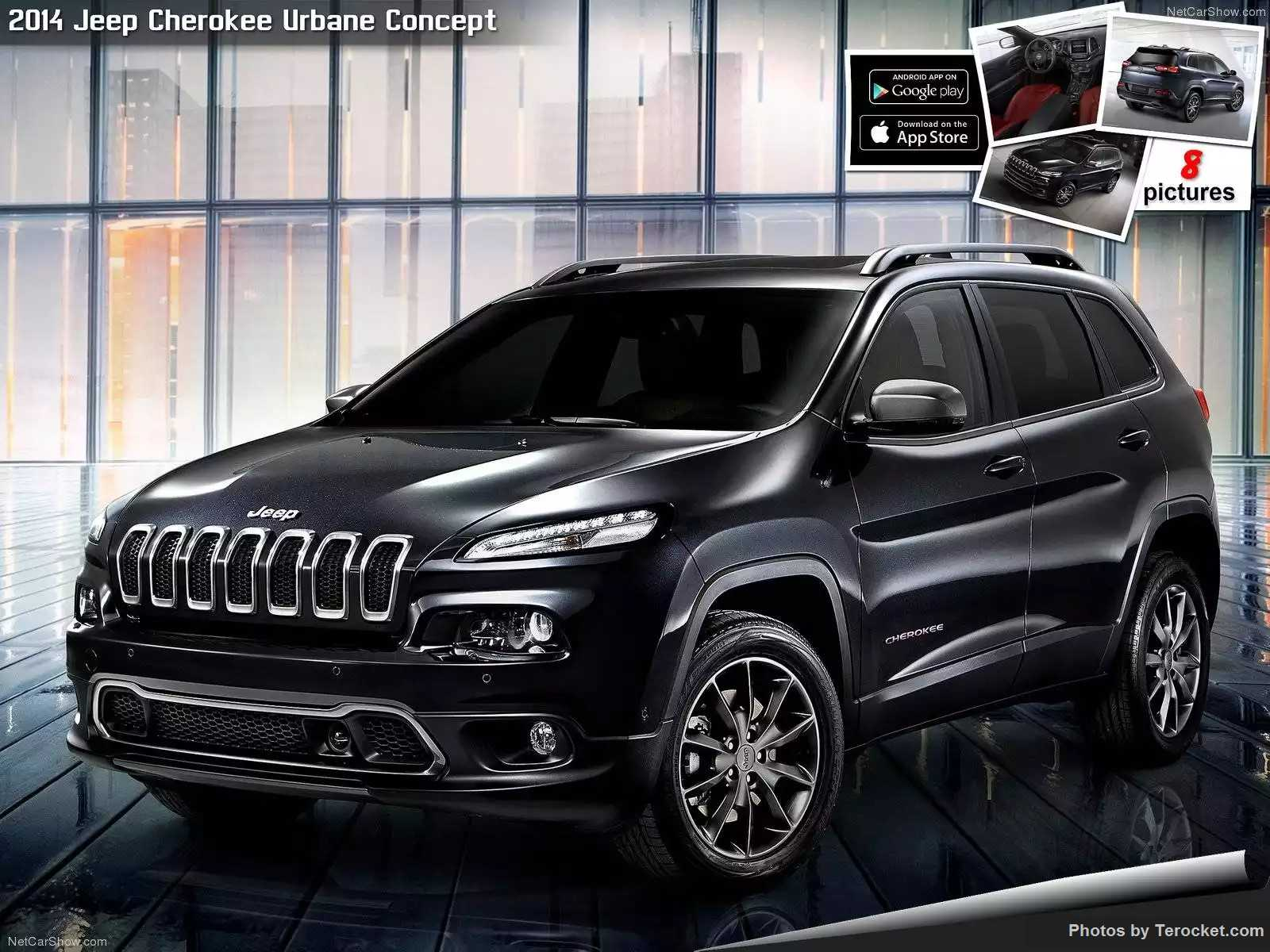 Hình ảnh xe ô tô Jeep Cherokee Urbane Concept 2014 & nội ngoại thất