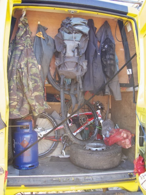 There Is So Much Space In This Iveco That Even Considering All The Living Was Still Room For A Garage At Back Jeffs Tools