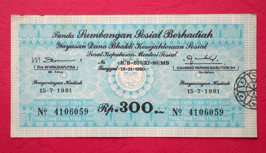 Seperti Apa Indonesia Jika SDSB Diundi Lagi ?