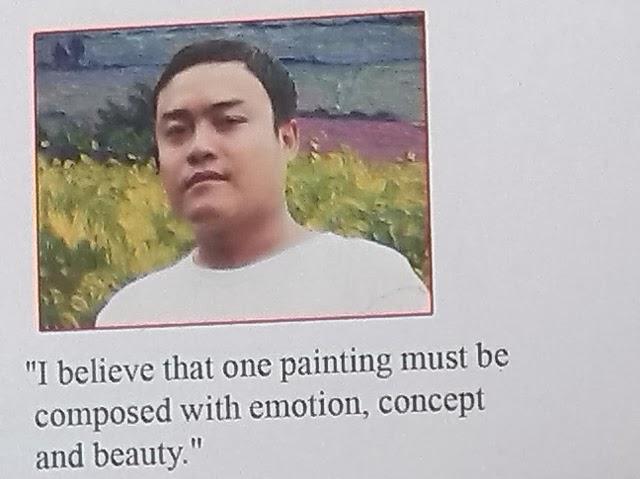 Zaw Min Htoo's first solo art show