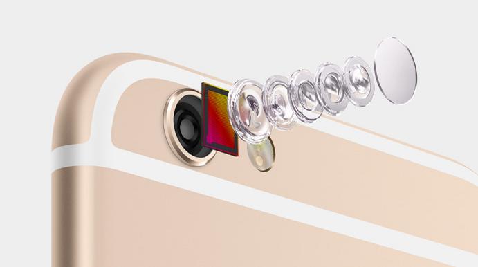 كاميرات الايفون 6