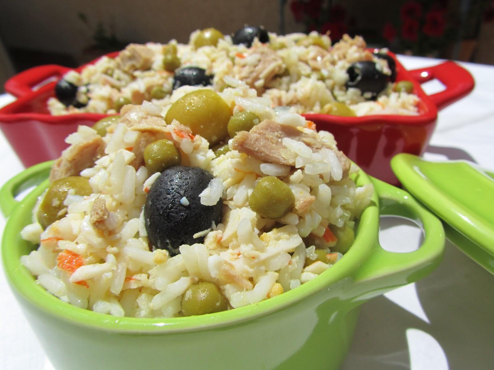 Ensalada de arroz thermomix - Ensalada de arroz y atun ...