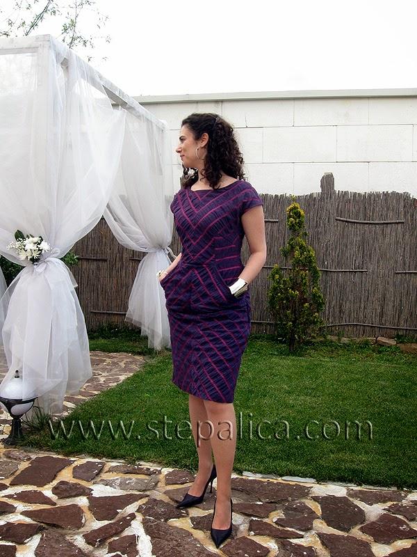 Štepalica: Haljina sa šarom riblje kosti
