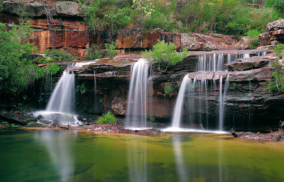 Fotografías inéditas de las Cascadas Silvia en Australia