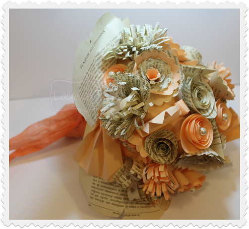 wedding paper bouquet