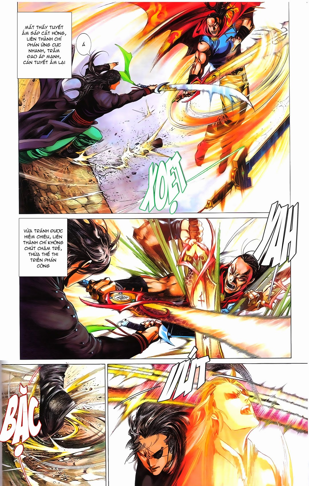 Phong Vân chap 667 Trang 12 - Mangak.info