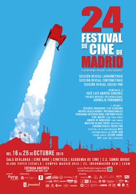 24ª edición del Festival de Cine de Madrid-PNR