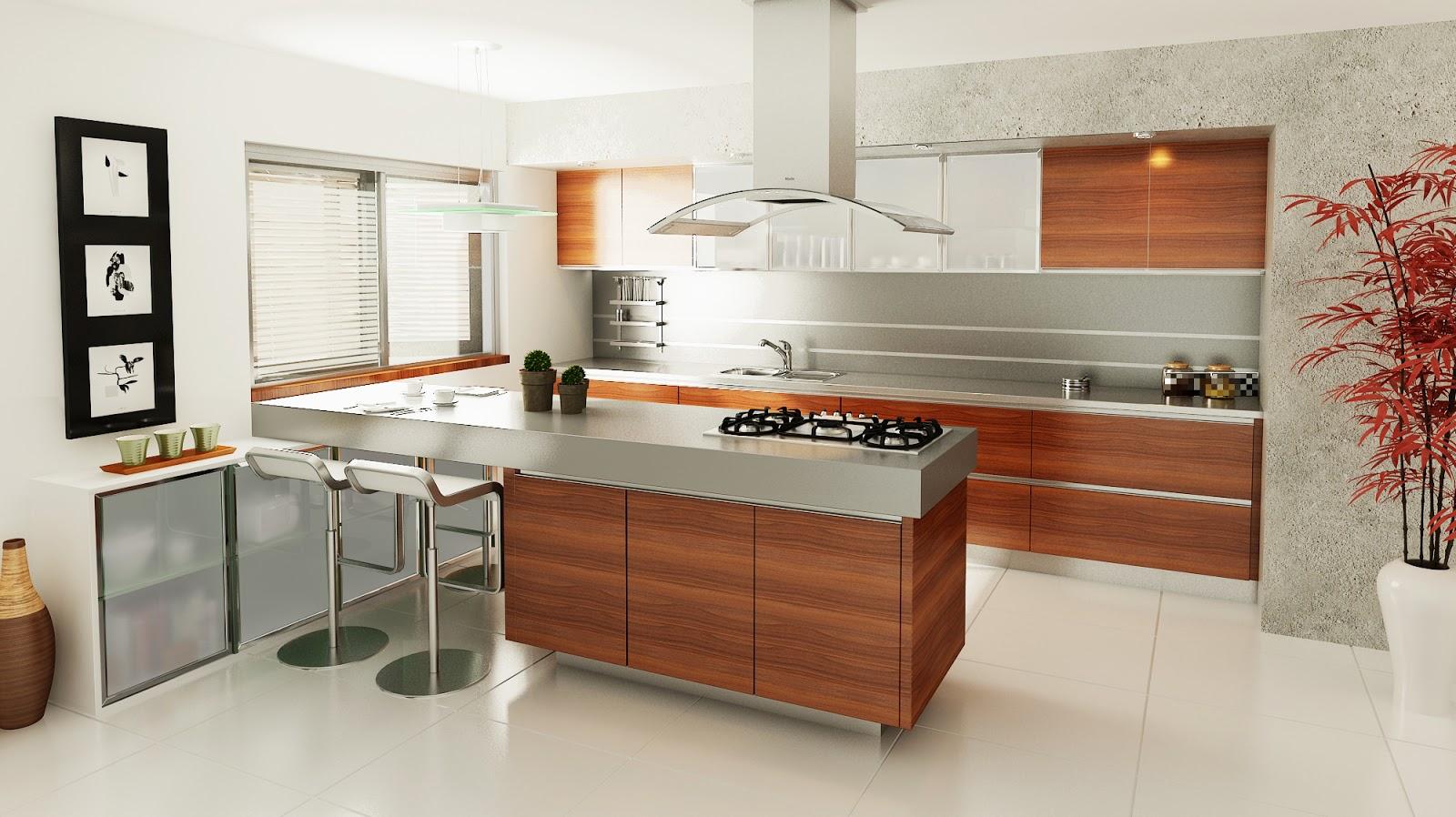 Arquitectura en im genes 3d dise o de interiores cocinas for Disenos de interiores de cocinas