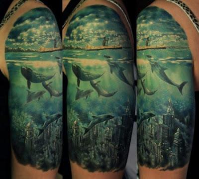 Dolphin Tattoo Den Yakovlev