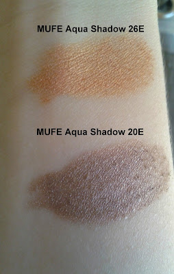 Make Up For Ever Aqua Shadow 26E 20E