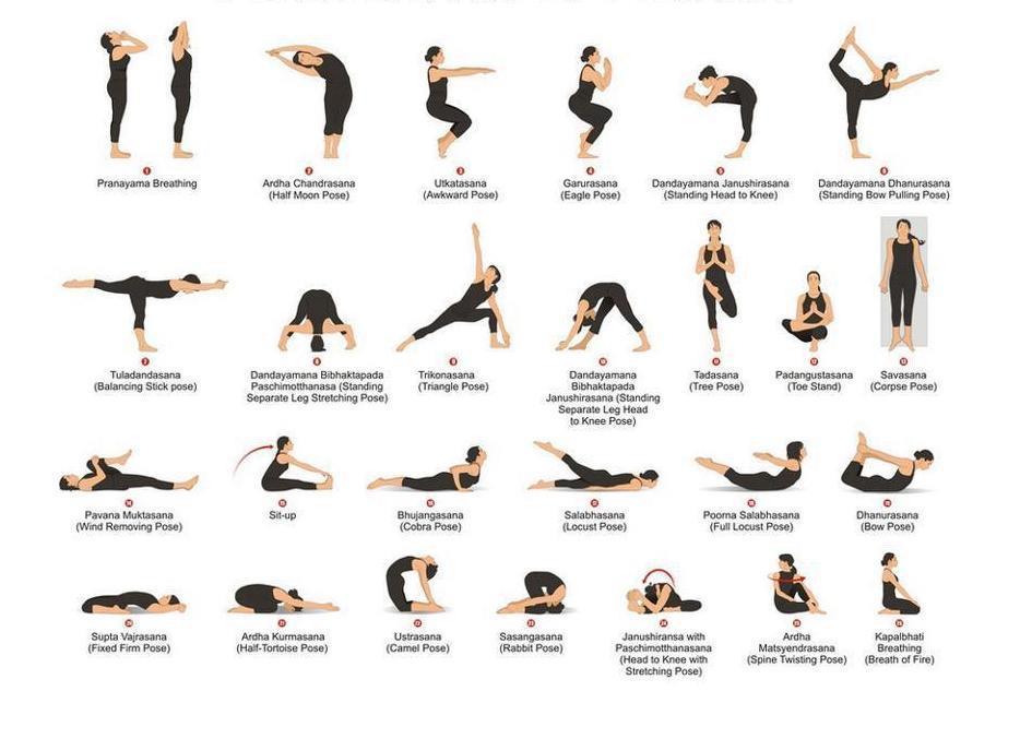 pozitii yoga in doi