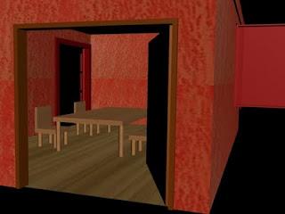 Sala de jantar em 3D - 01