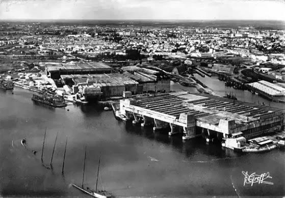 HISTORIA PARA NO DORMIR: Keroman U-Boat; Base de submarinos en Lorient ...