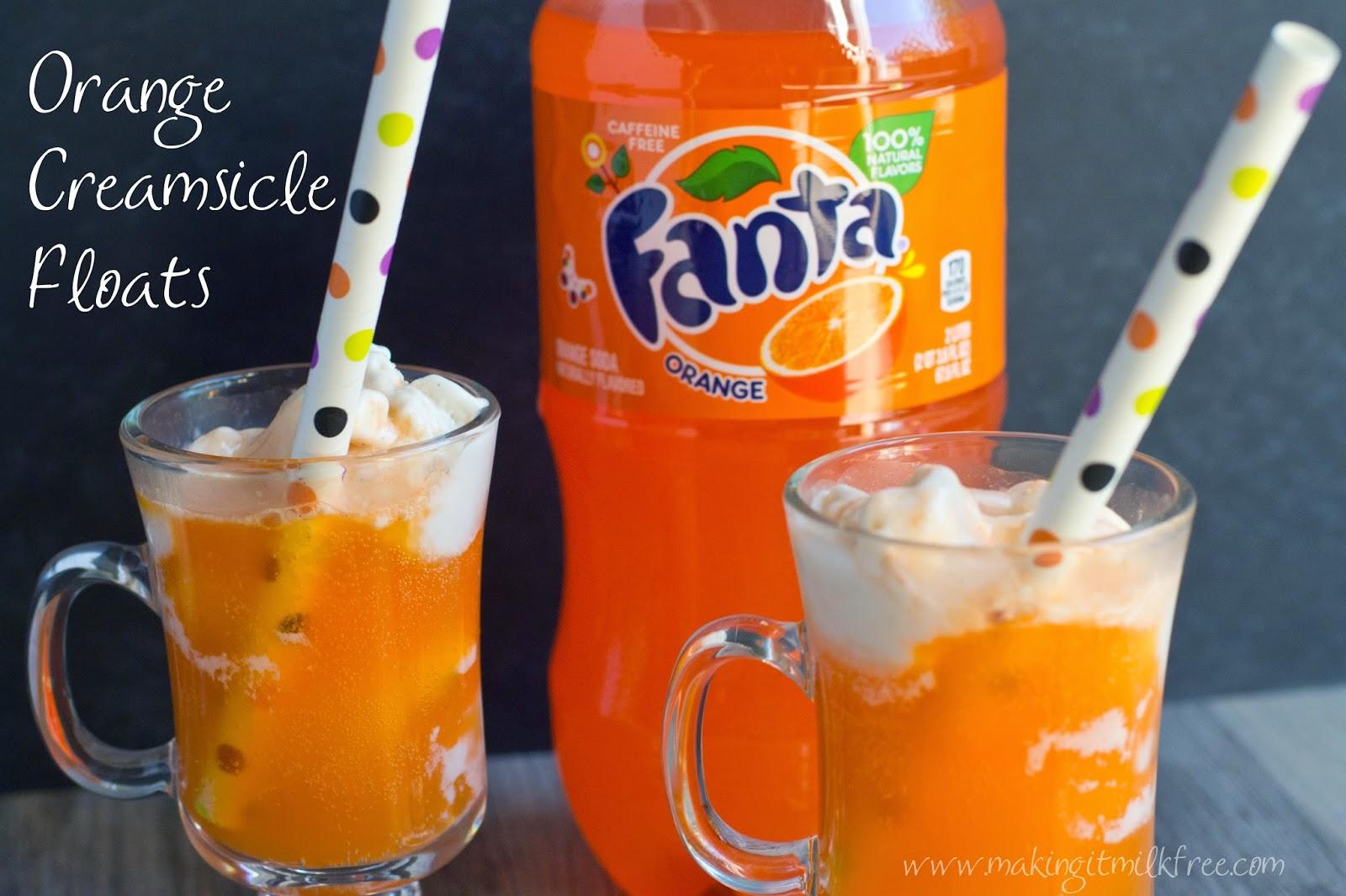 #fanta #creamsicle #floats #halloweensnacks