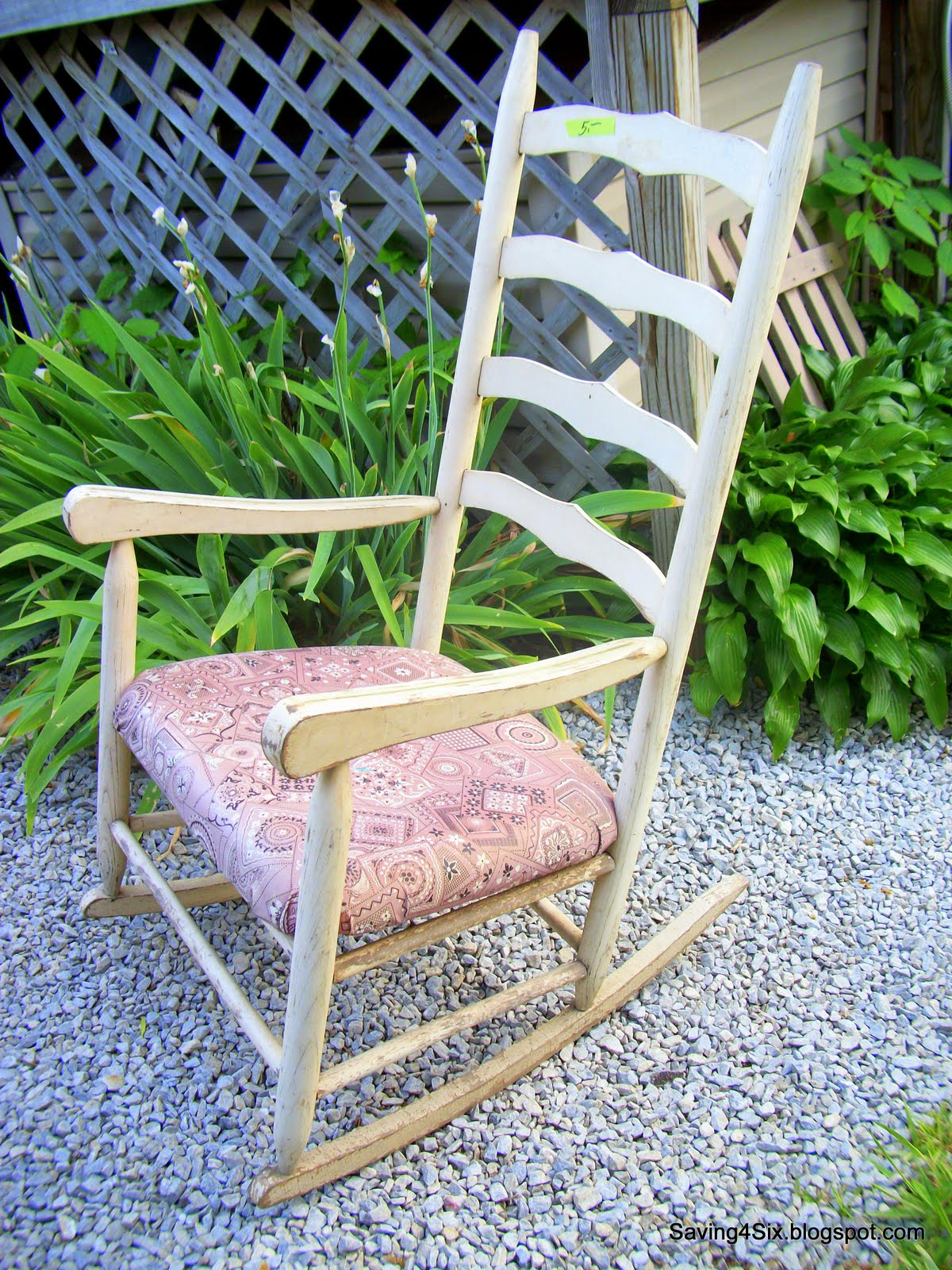 5 rocking chair makeover. Black Bedroom Furniture Sets. Home Design Ideas
