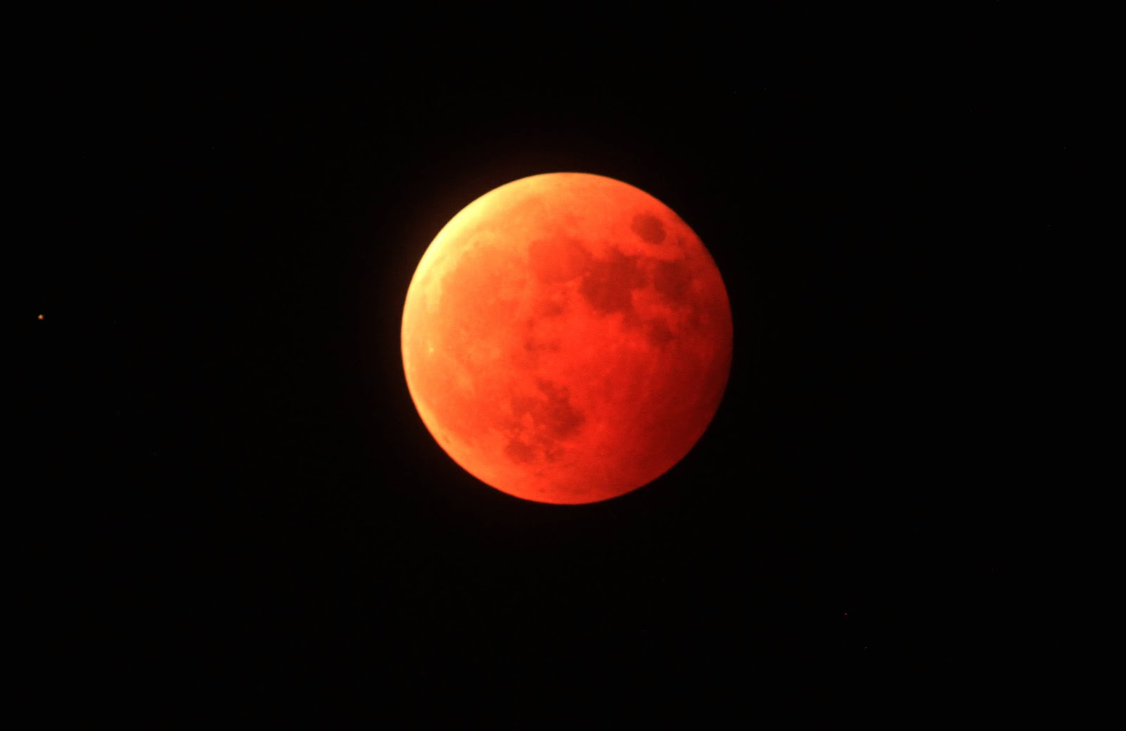 Fourth Blood Moon Of The Tetrad