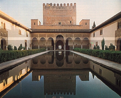World Visits Alhambra Historical Palace Spain