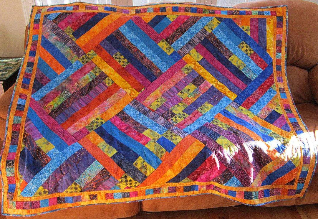 Quilts + Color: Potato Chip Quilt - A New Angle : potato chip quilt pattern - Adamdwight.com