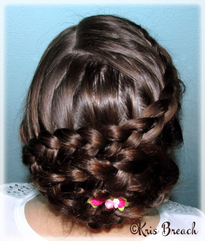 the crafting secretary dutch flower braid