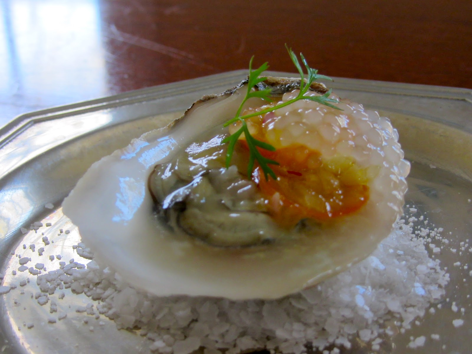 Jamie's Dinner Table: Oysters with an Asian Mignonette Sauce