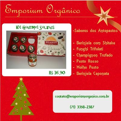 Sugestões de Natal: Emporium Orgânico
