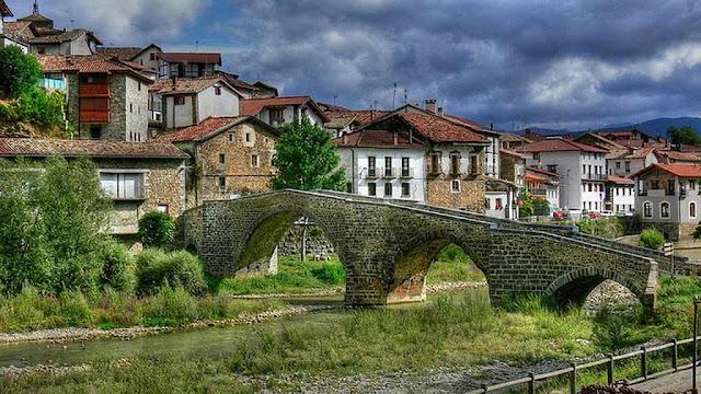 Puente de Burgui, Navarra
