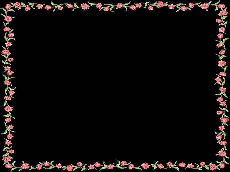 Marcos de flores infantiles imagui - Marcos transparentes ...