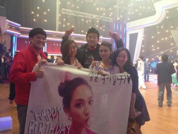Fei Miss A Rayakan Hari Ulang Tahunnya